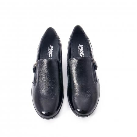 Pantofi casual dama piele naturala naplac Imac IC406960, negru5