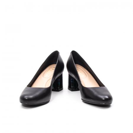 Pantofi dama eleganti, piele naturala, EP 9690-535-5864