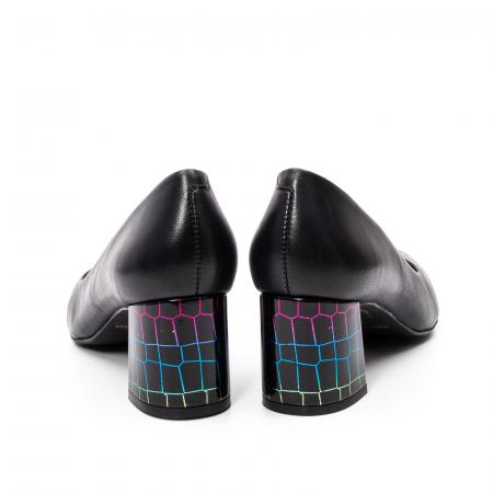 Pantofi dama eleganti, piele naturala, EP 9690-535-5866
