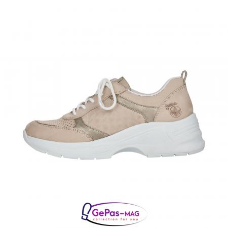 Pantofi dama tip sneakers, piele naturala, 59426-602