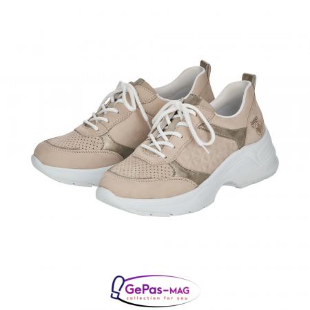 Pantofi dama tip sneakers, piele naturala, 59426-606