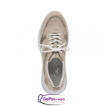 Pantofi dama tip sneakers, piele naturala, 59426-601