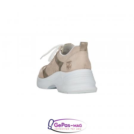 Pantofi dama tip sneakers, piele naturala, 59426-603