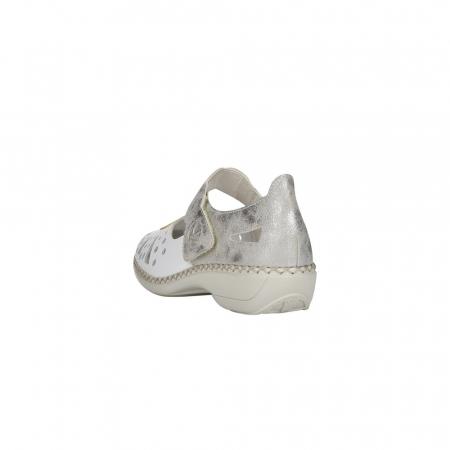 Pantofi decupati dama din piele naturala, 41368-803