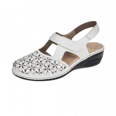 Pantofi decupati dama din piele naturala 47787-80 [0]