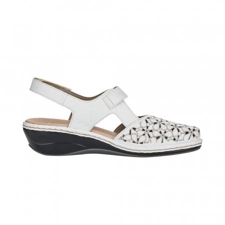 Pantofi decupati dama din piele naturala 47787-80 [3]