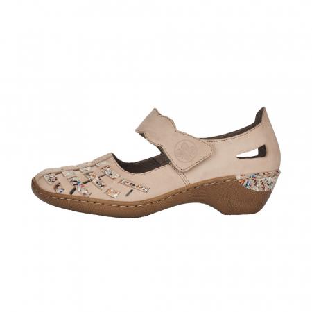 Pantofi decupati dama din piele naturala, 48369-60 [3]