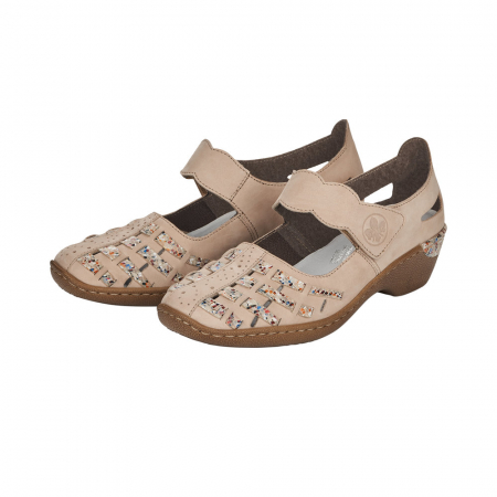 Pantofi decupati dama din piele naturala, 48369-60 [5]