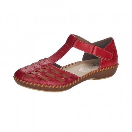Pantofi decupati dama din piele naturala, M1658-330