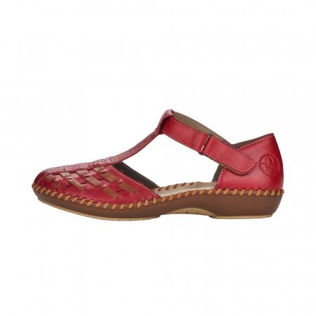 Pantofi decupati dama din piele naturala, M1658-332