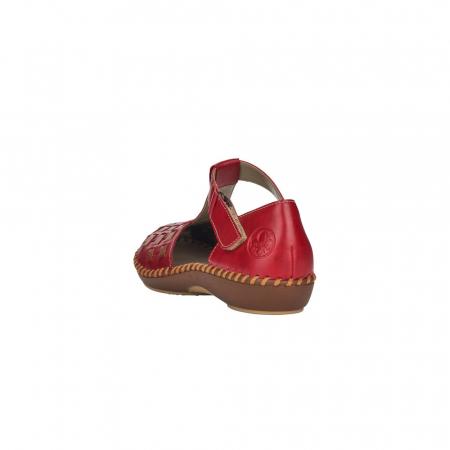 Pantofi decupati dama din piele naturala, M1658-333
