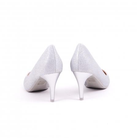 Pantof elegant 658 argintiu6