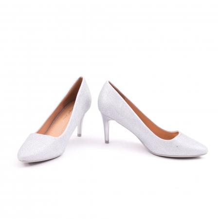 Pantof elegant 658 argintiu4