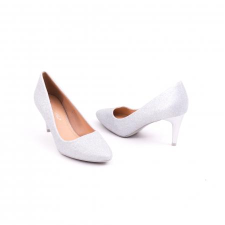 Pantof elegant 658 argintiu3
