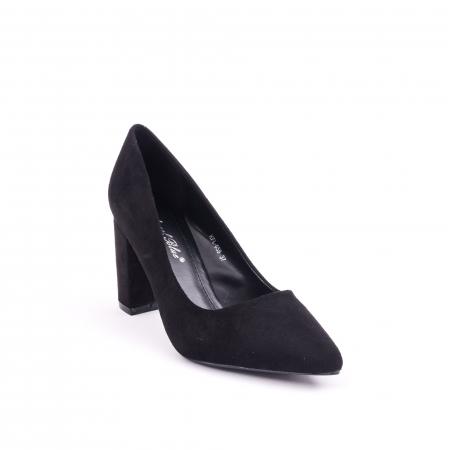 Pantof elegant  659 negru0