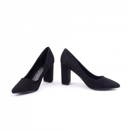 Pantof elegant  659 negru4