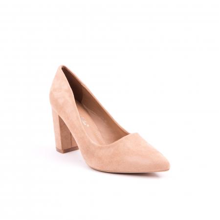 Pantof elegant 659 nude0