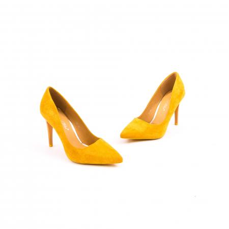Pantof elegant 669 mustar2