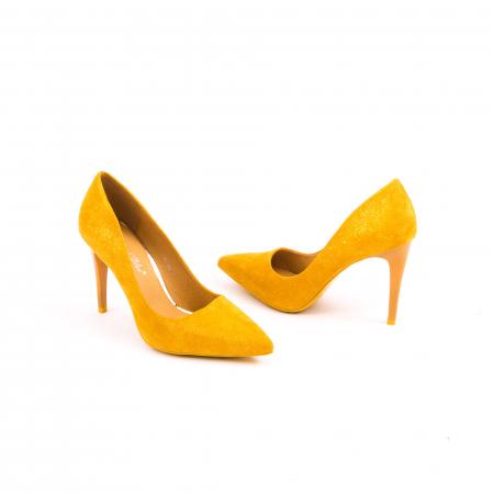 Pantof elegant 669 mustar6