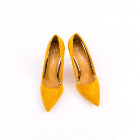 Pantof elegant 669 mustar4