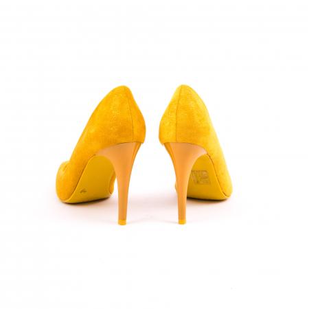 Pantof elegant 669 mustar5