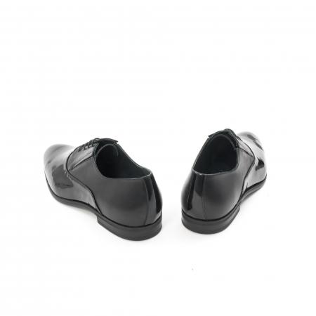 Pantof elegant barbat LFX 526 negru box cu lac.6