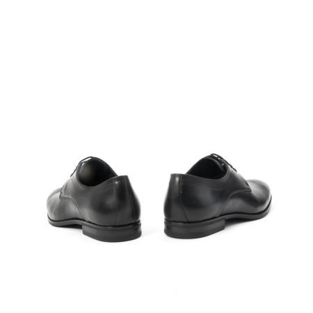 Pantofi barbati eleganti, piele naturala , Leofex 932, negru6
