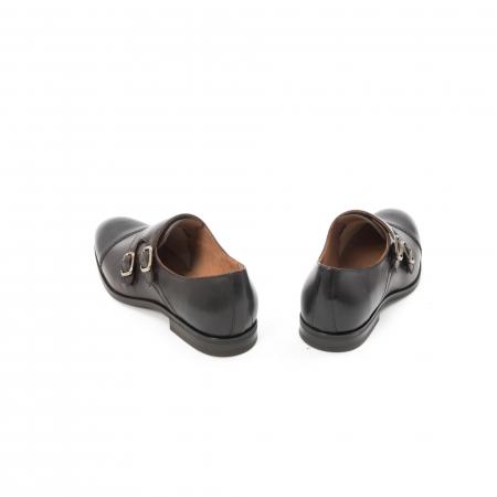 Pantofi barbati eleganti piele naturala Leofex 933, visiniu6