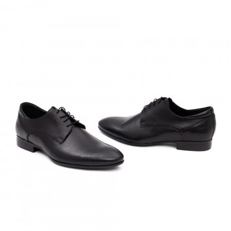 Pantof elegant barbat LFX 935 negru2