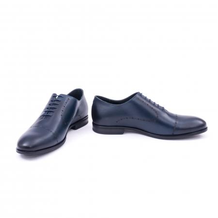Pantof elegant barbati LFX 934 bleumarin4