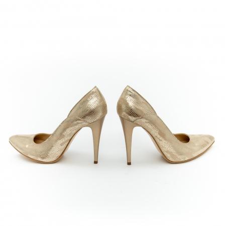 Pantof elegant dama 1106 auriu4