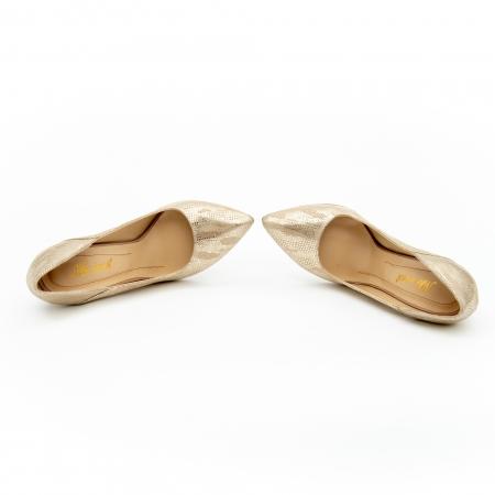 Pantof elegant dama 1106 auriu5