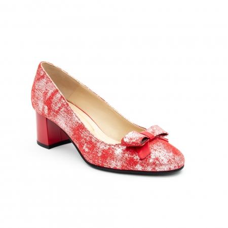 Pantof elegant dama -cod 1111 rosu0