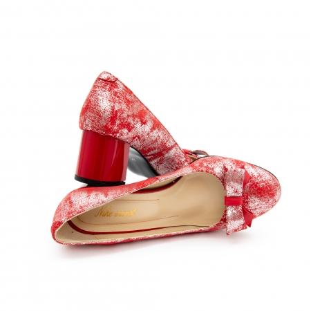 Pantof elegant dama -cod 1111 rosu4