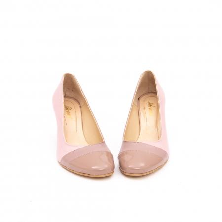 Pantof elegant dama -cod BBLB16 nude -crem4