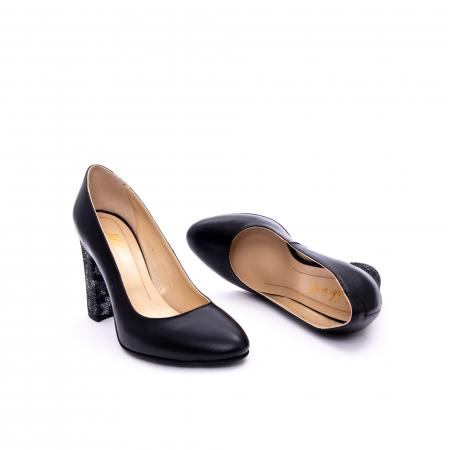 Pantof elegant dama marca Nike Invest 1014 negru2