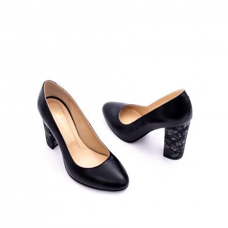 Pantof elegant dama marca Nike Invest 1014 negru1
