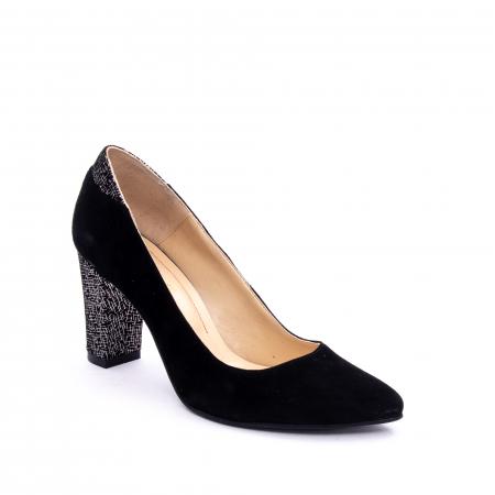 Pantof elegant dama marca Nike Invest 1197 negru velur0