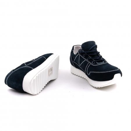 Pantof sport dama -cod F002-91 navy suede4