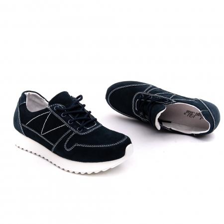 Pantof sport dama -cod F002-91 navy suede1