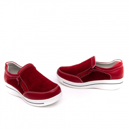 Pantof sport dama-cod F002-93 burgundy1