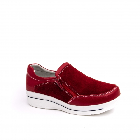 Pantof sport dama-cod F002-93 burgundy0