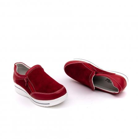Pantof sport dama-cod F002-93 burgundy2