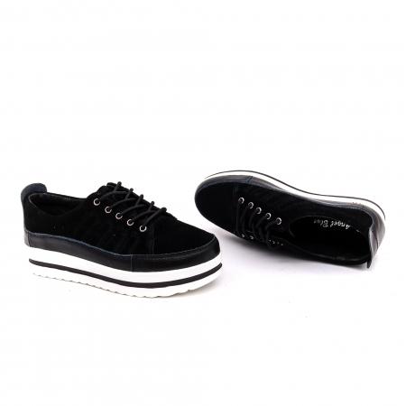 Pantof sport dama -cod VK-F001-447 black2