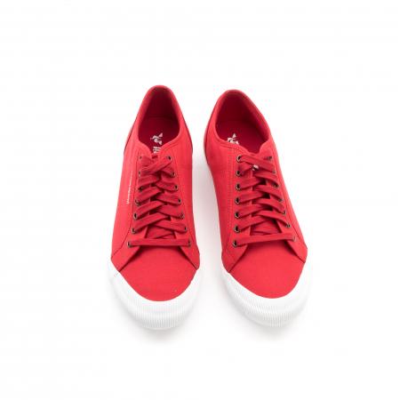 Pantofi sport unisex Le Coq Sportif 1820070 deauville sport, rosu4