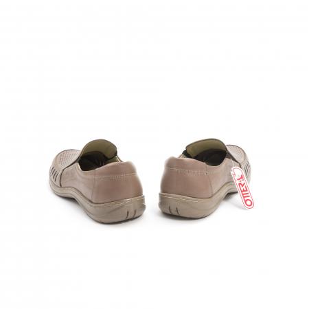 Pantofi barbati casual,  piele naturala, Otter 150 03-N, taupe6