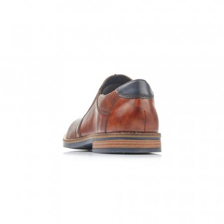Pantofi barbati de vara, piele naturala,  13571-241