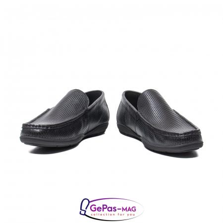 Pantofi barbat de vara tip mocasin, piele naturala, L1513304