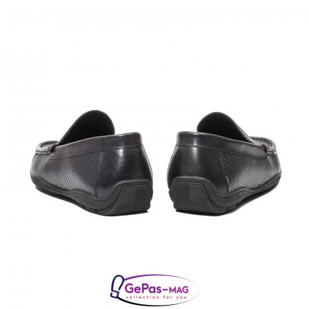 Pantofi barbat de vara tip mocasin, piele naturala, L1513306
