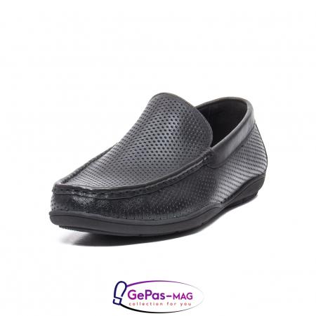 Pantofi barbat de vara tip mocasin, piele naturala, L1513300